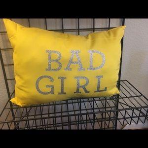 Bad Girl Pillow